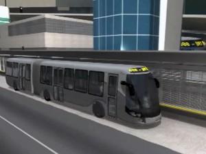 Quarta Ponte terá faixas adaptadas ao sistema BRT (Foto: Divulgação/ Governo do Espírito Santo)