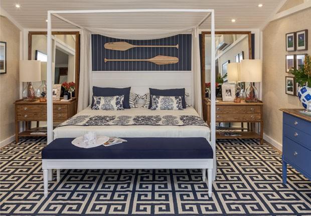 12 quartos para todos os estilos Casa Vogue Ambientes ~ Quarto Rustico De Praia