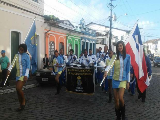 Caminhada marca o início das comemorações da indepência da Bahia (Foto: Divulgação / Prefeitura de Cachoeira )