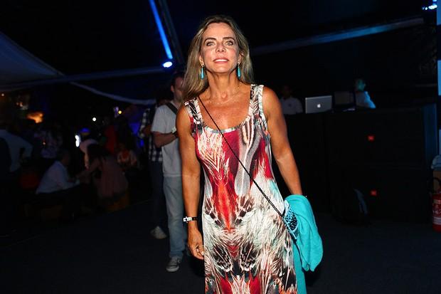 Bruna Lombardi no show de Elton John em São Paulo (Foto: Iwi Onodera / EGO)