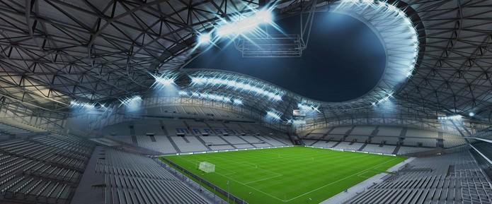 Stade Vélodrome (Foto: Divulgação/EA)