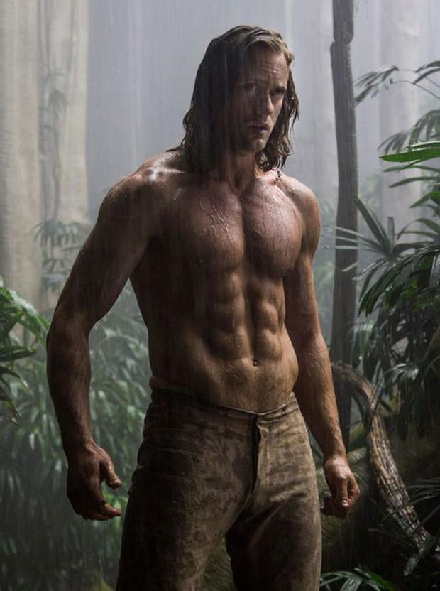 Alexander Skarsgard em A Lenda de Tarzan (Foto: Reprodução/Jonathan Olley)