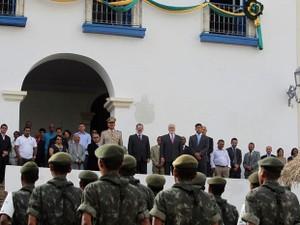 Sede do Governo da Bahia é transferida para Cachoeira (Foto: Manu Dias/GOVBA)