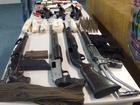 Polícia apreende arsenal de grupo suspeito de roubo a bancos no Ceará
