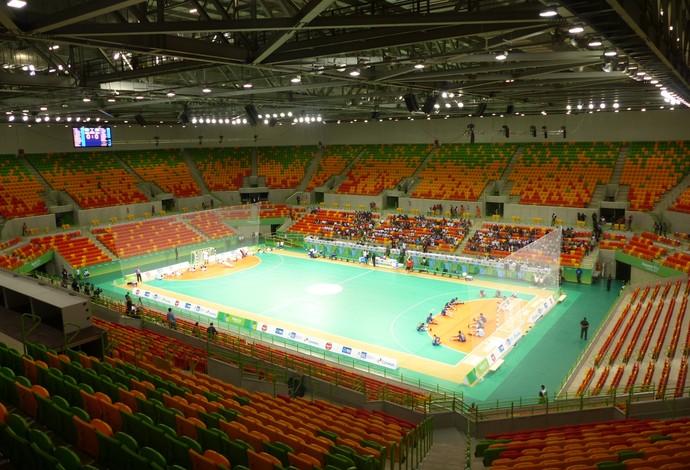Arena do Futuro, evento-teste, handebol (Foto: Thierry Gozzer)