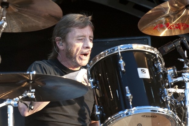 Phil Rudd, baterista do AC/DC (Foto: Agência Getty Images)