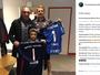 Paredões: de férias na Europa, Prass entrega camisa do Palmeiras a Neuer