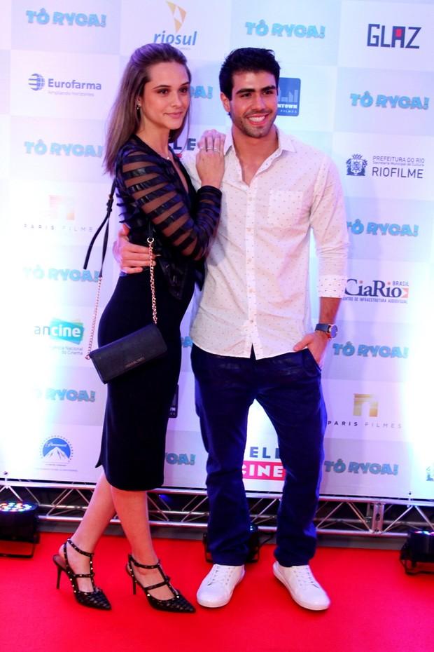 Juliana Paiva e Juliano Laham (Foto: Anderson Borde / Ag News)