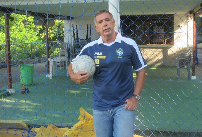 Ney Pereira, técnico da seleção brasileira de futsal (Foto: Flávio Dilascio)