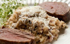 Receita de risoto de quinoa