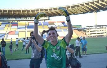 De vilão a herói, goleiro do Rio Branco dedica título do Sub-20 aos pais
