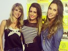 Dany Bananinha, Babi Rossi e Lizi Benites badalam em São Paulo