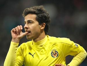 Villarreal x Bayer Leverkusen nilmar (Foto: Agência Reuters)