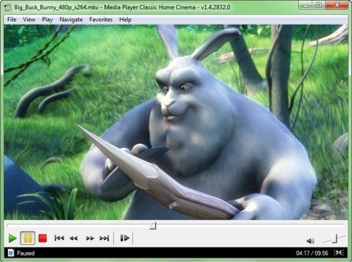 screenshot de Media Player Classic