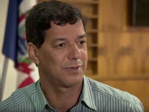 Prefeito de Ubá Edvaldo Baião (Foto: Reprodução/ TV Integração)