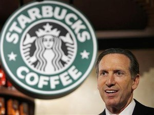 CEO da Starbucks, Howard Schultz (Foto: Reuters)