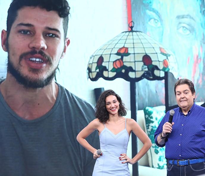 José Loretto contou história divertida com o sogro (Foto: Carol Caminha/Gshow)