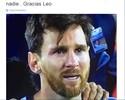 """Em rede social, Calleri manda recado a Messi: """"Merecia mais do que todos"""""""