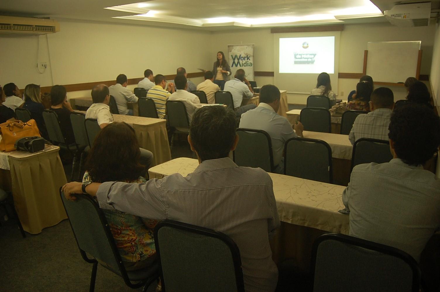 1º WorkMídia aconteceu nesta segunda-feira (18), no Xênius Hotel, em João Pessoa (Foto: Daniel Sousa/ TV Cabo Branco)