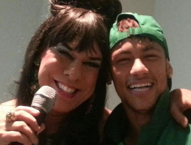 comediante seleção brasil Ciro virginia e neymar (Foto: Divulgação)