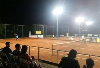 Circuito Acreano de Tênis nas quadras da AABB-AC (Foto: Divulgação/Fact)