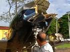 'Celular me salvou', diz psicólogo que presenciou pouso forçado de avião
