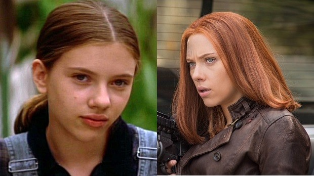 Scarlett Johansson em O Encantador de Cavalos e Capitão América 2 - O Soldado Invernal (Foto: Divulgação)