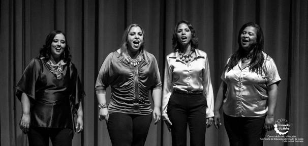 Terça no Teatro com Quarteto Feminino Flor Essência (Foto: Divulgação)