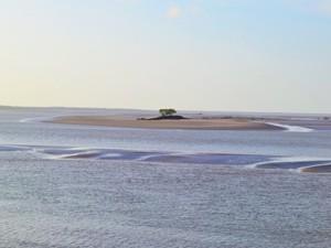 Praia do Amor pelo leitor Jonathan (Foto: Jonathan Mesquita Miranda/VC no G1)