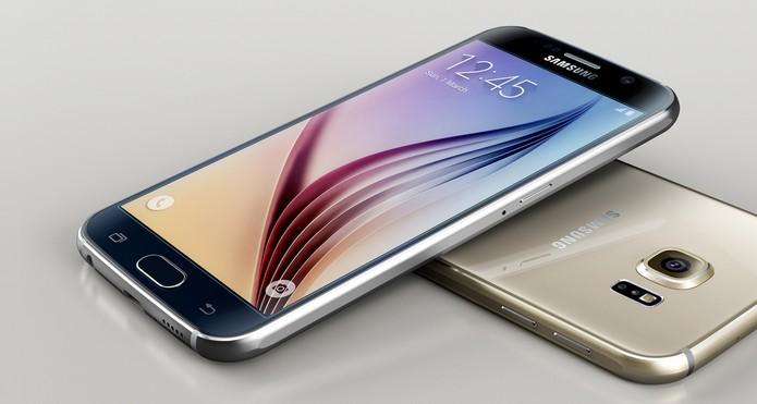 Galaxy S6 possui 5,1 polegadas com resolução QHD e proteção Gorilla Glass 4 (Foto: Divulgação/Samsung)