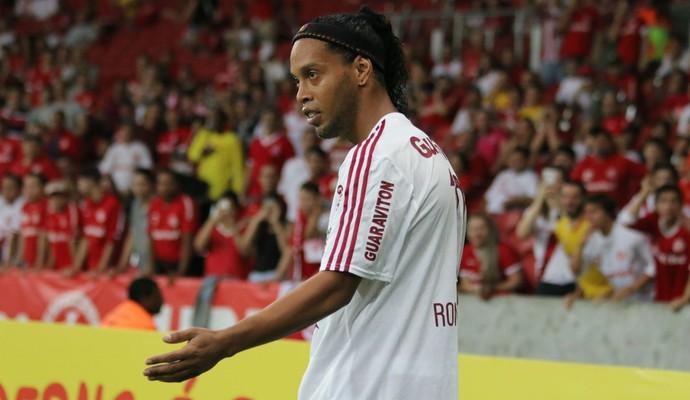 Internacional x Fluminense Inter Ronaldinho Fluminense (Foto: Diego Guichard/GloboEsporte.com)