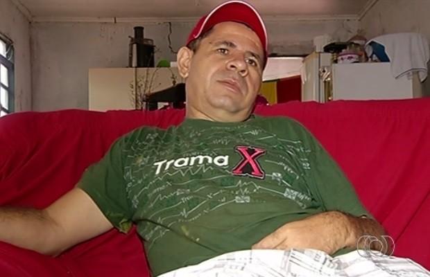 Deficiente físico tem transtornos para emitir CNH especial, em Rio Verde, Goiás (Foto: Reprodução/TV Anhanguera)