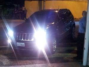 Carro usado por ex-produtor da banda de Thiaguinho (Foto: Fernando Pacífico / G1 Campinas)
