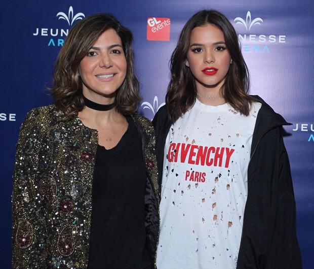 Carol Sampaio e Bruna Marquezine (Foto: Marcello Sá Barretto/AgNews)