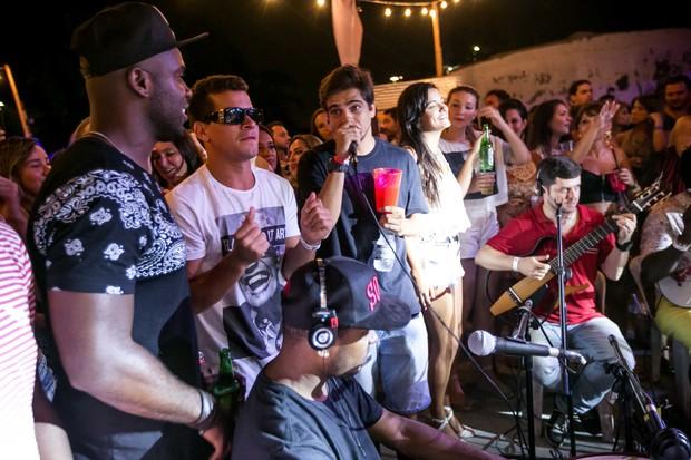 Thiago Gagliaso, Thiago Martins, Medina, Rafael Zulu (Foto: Marcos Samerson / Agência We love Photo!)