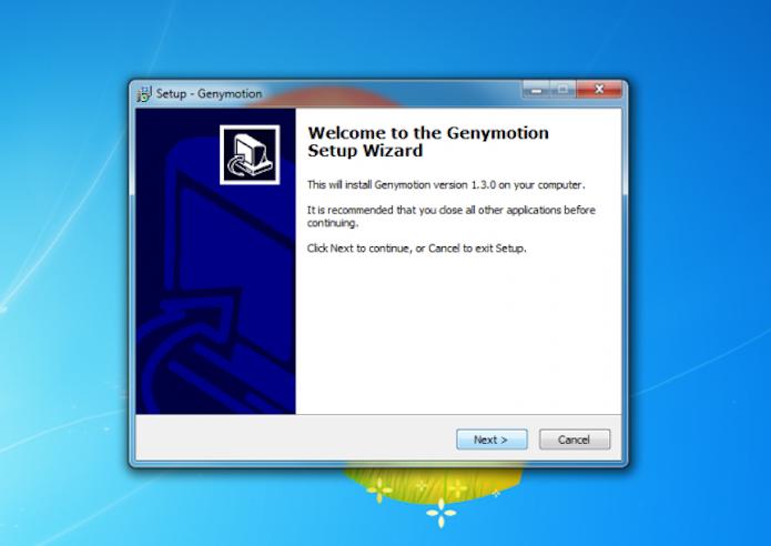 Instalador do Genymotion (Foto: Reprodução)