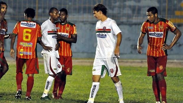 Serrano empata com o Juazeirense pelo Baiano (Foto: Eliezer Oliveira / Serrano)