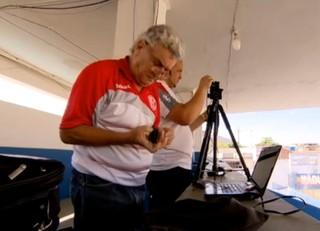 Seu Célio, torcedor do America (Foto: Reprodução TV Globo)