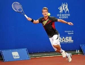 Tenista João Pires no ATP Challenger Tour em Belém (PA) (Foto: João Pires/Assessoria do evento)