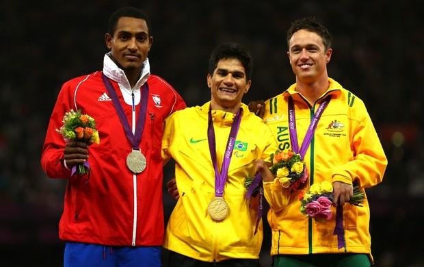 Yohansson paralimpíadas atletismo londres 200m (Foto: Getty Images)