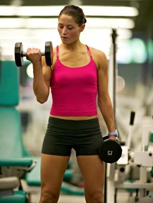 mulher musculação academia euatleta (Foto: Getty Images)