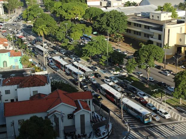 João Pessoa é uma das cidades paraibanas que municipalizaram a gestão do trânsito (Foto: Ricardo Oliveira / G1)