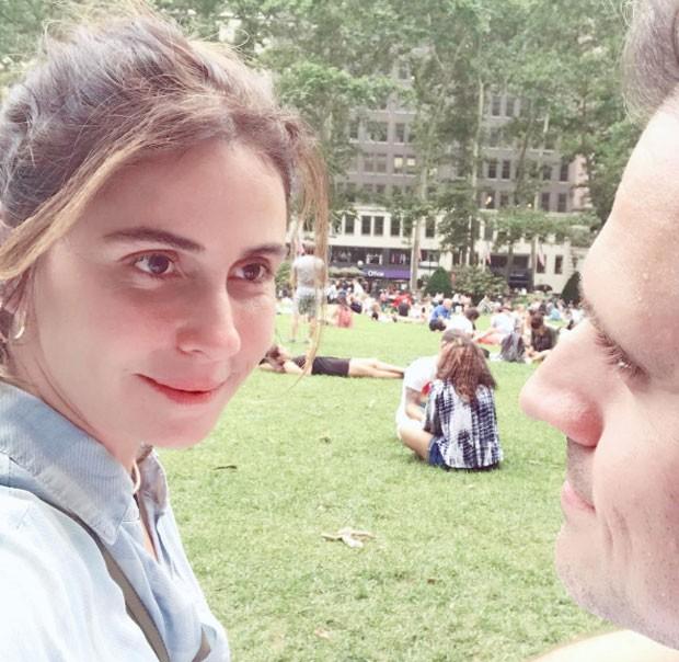 Giovanna Antonelli abre álbum de viagem em famíli em NY (Foto: Giovanna Antonelli )