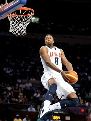 Rudy Gay EUA x França basquete (Foto: Reuters)