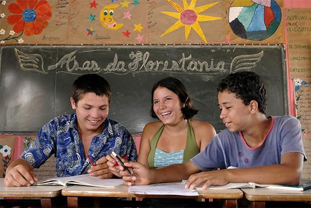 Galeria 2 - Acre - Poronga Escola Rural Santa Rita de Cassia - Placido de Castro (2) (Foto: Guanabaratejo)