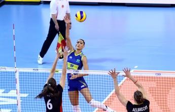 Brasil leva susto, reage, bate a Bélgica e avança à fase final do Grand Prix