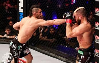 """""""Gringão"""", Alexandre Capitão faz 1ª defesa de título do WSOF e mira UFC"""