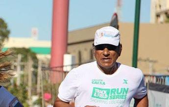 Da ajuda à filha ao prazer de competir: peruano se encanta por corrida aos 68