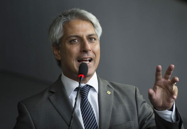 O deputado federal Alessandro Molon (Rede-RJ) (Foto: Marcelo Camargo/Agência Brasil)
