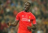 Balotelli comemora gol do Liverpool contra o Ludogorets